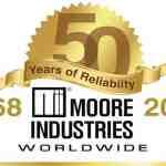 Moore Branchen 50 Jahrestag