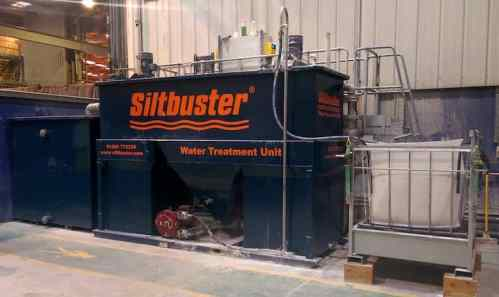 siltbuster water treatment unit