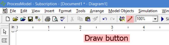 draw button in processmodel