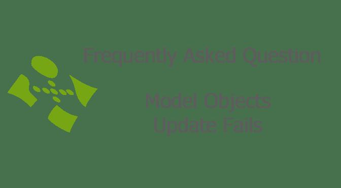 Model Objects Update Fails