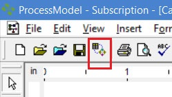 Importing data and simulating processmodel
