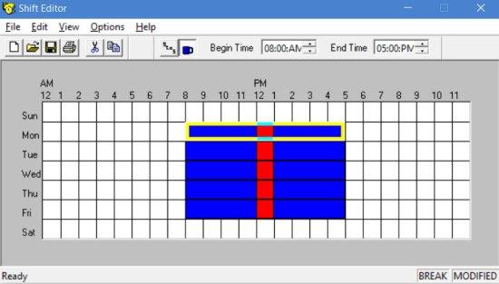 Shift File Editor