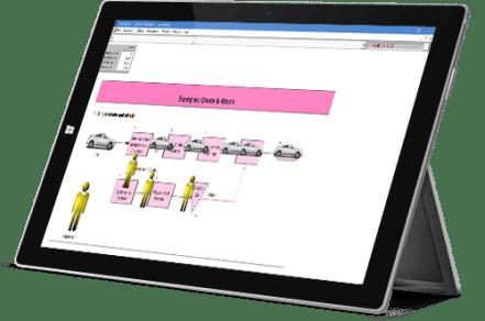 ProcessModel simulate window