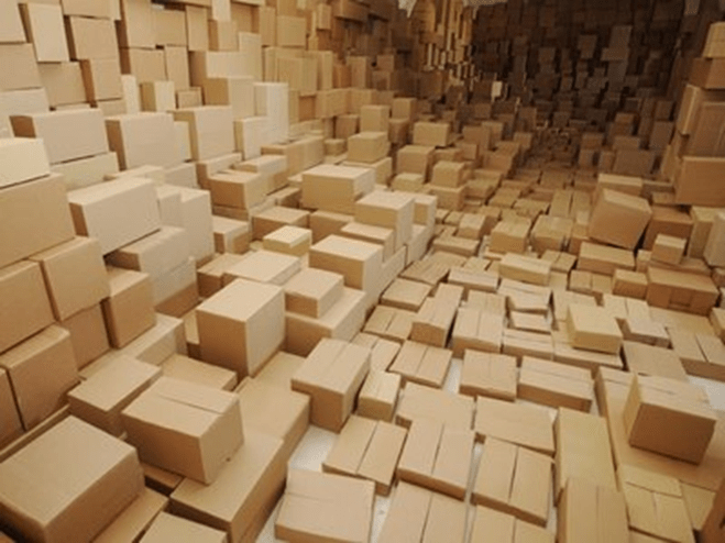 Boxes and boxes and boxes