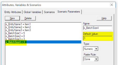 add new ent Batch by Name of Entity