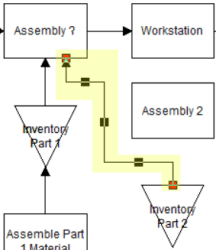 move route from subassembly to assembly in Variable Assembly