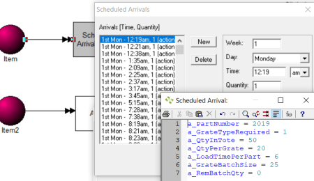 verify import in Import Scheduled Arrivals