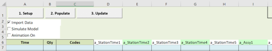 attributes pasted scheduled arrivals with table input