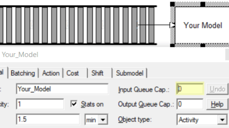 conveyor set input queue