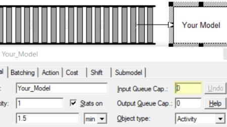 conveyor set input queue