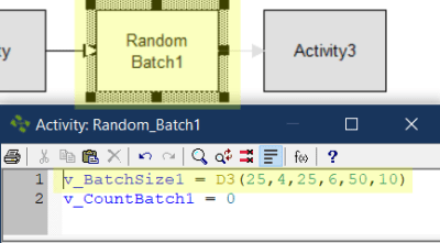 update action logic Random Batch Size