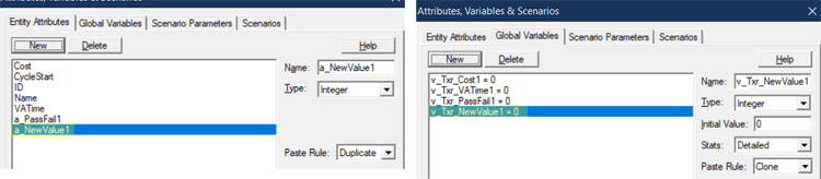 adding new attribute and variable in Transfer Attributes