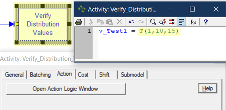change distribution in Verify Distribution Values