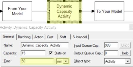 change time in Dynamically Change Activity Capacity