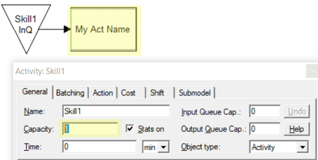 change cap in Res Action logic in Input Queue