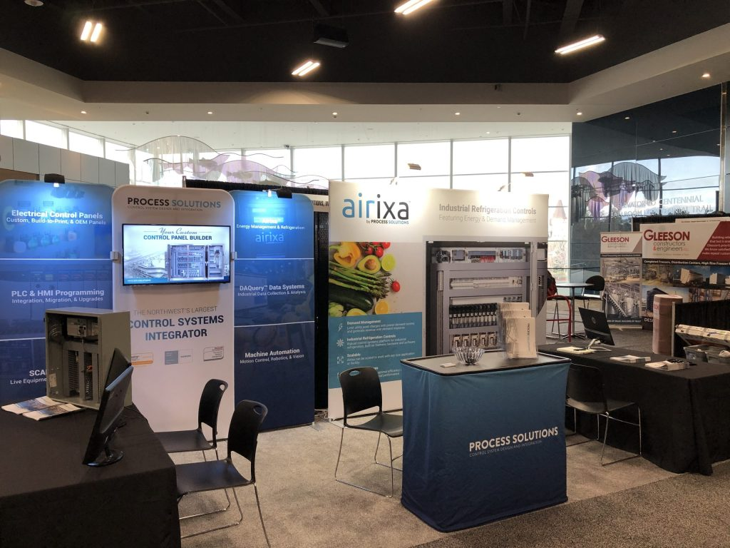 Process Solutions booth at Northwest food and beverage world 2020
