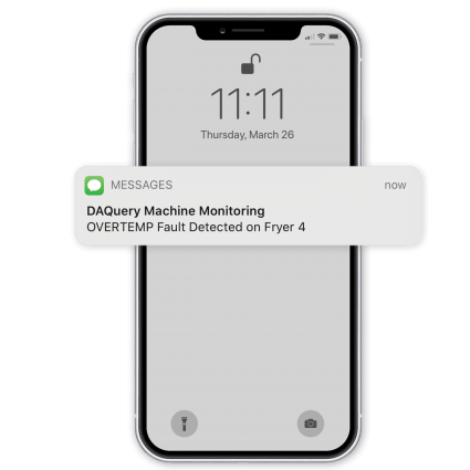 DAQuery Phone Alert