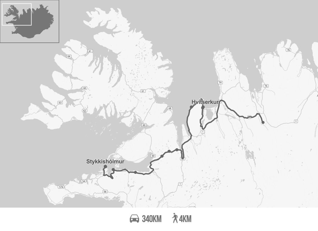 Islande : Le nord jusqu'à Stykkisholmur - Jour 9