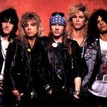 Guns'n'Roses, symbol hardrockového frackovství devadesátých let.