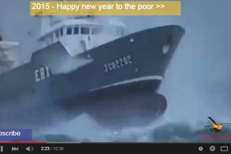 top 6 lodí plujících za bouře