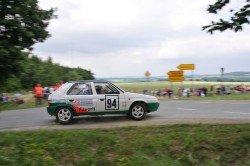 Škoda měla s Favoritem úspěchy v motorsportu.