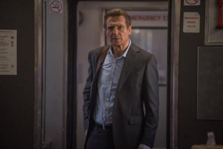 Liam Neeson ve filmu Cizinec ve Vlaku
