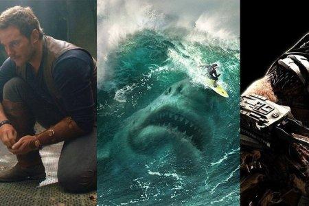 Jurský svět: Zánik říše, MEG: Monstrum z hlubin, Predátor: Evoluce
