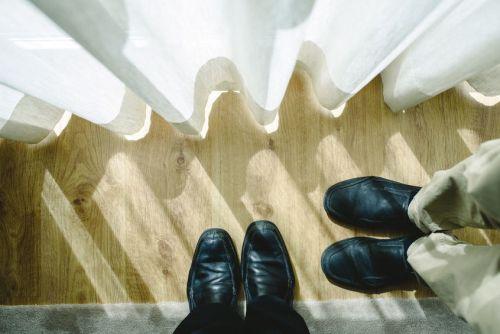 jak se obléct na pohovor boty
