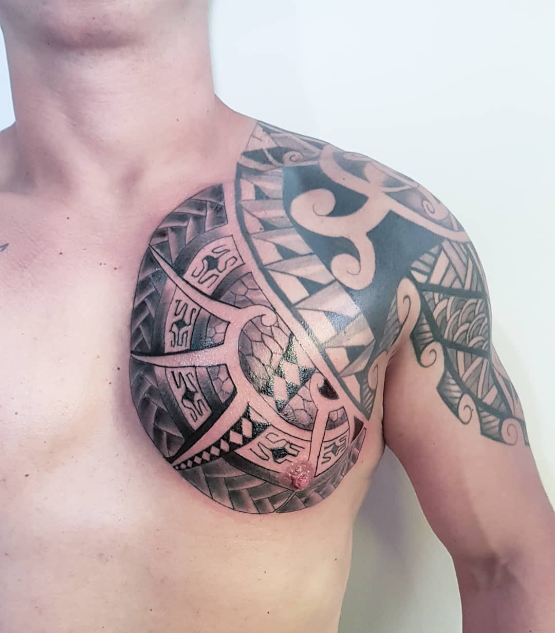 150 Chest Tattoo Themes That Make Men Look Desirable
