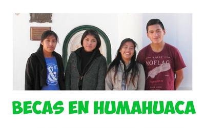 Becas en Humahuaca, Argentina