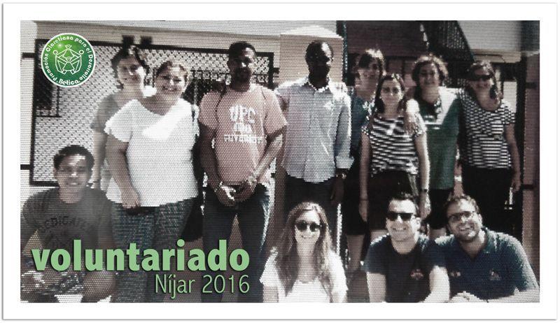 Campo de Voluntariado Níjar 2016
