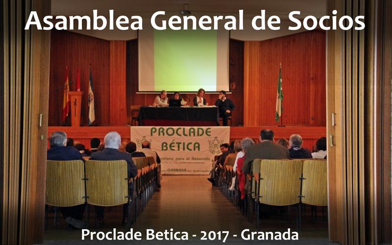 Asamblea general de socios-2017 Proclade Bética. Granada
