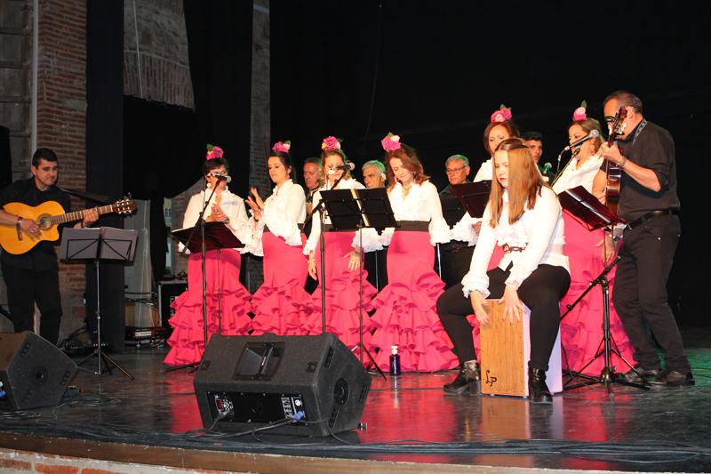 Festisol 2017 coro flamenco