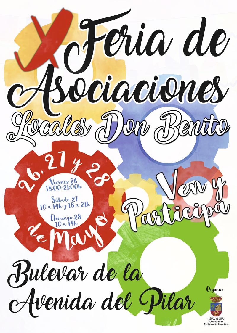 Cartel de la Feria de Asociaciones