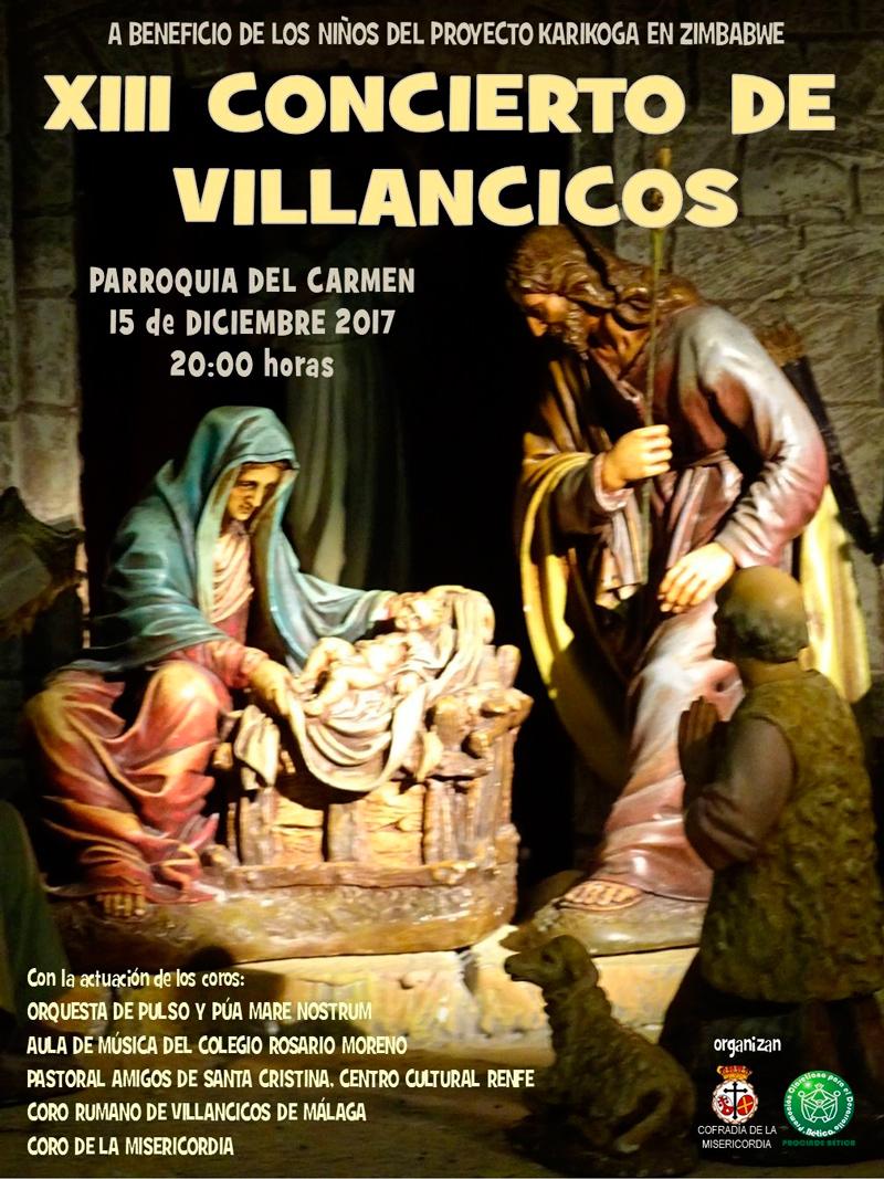 XIII concierto de villancicos en Málaga