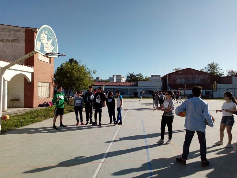 canastas solidarias IES Carolina Coronado