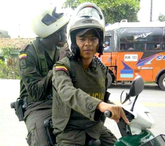 Deivy Manuel Vergara Lambraño, policía, murió por robarle la moto