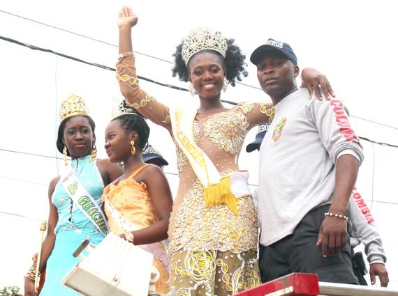 Miss Afrodescendiente es de Guachené, Sindy Yulieth Banguero Quintero
