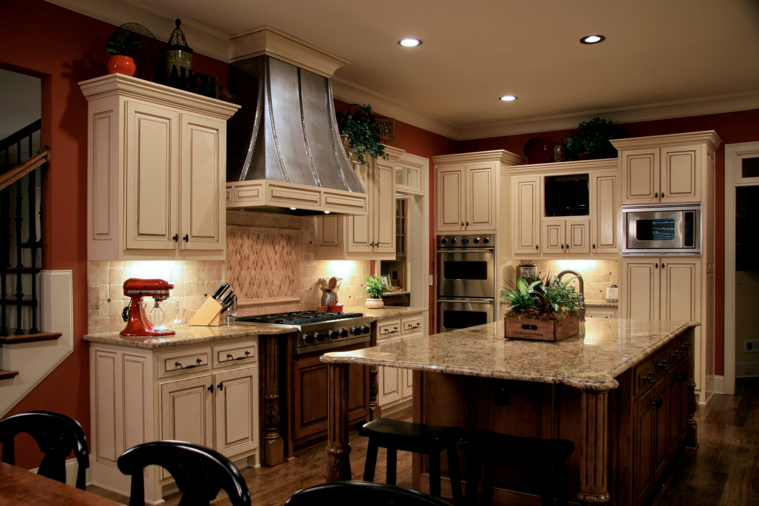Install Recessed Lighting In A Kitchen