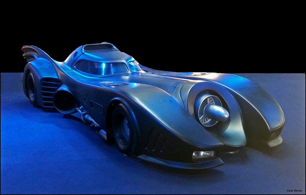 1989 Batmobile. Image courtesy of Zachi Evenor on Flickr.