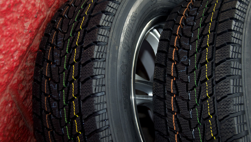 Different parts of tires are made of different materials. Image courtesy of Oregon Department of Transportation on Flickr / CC BY 2.0