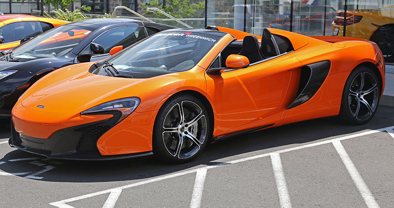 The McLaren P14 should be similar to McLaren 650S. Photo by Mr.choppers on Wikimedia Commons / CC BY-SA 3.0.