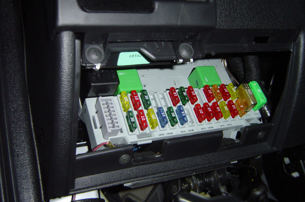 A fuse box. Image courtesy of Henrique Pinto on Flickr, hosted under CC BY 2.0.