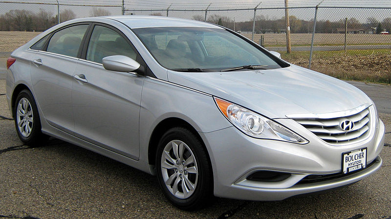 Hyundai Sonata. Photo by U.S. National Highway Traffic Safety Administration / CC0 1.0.