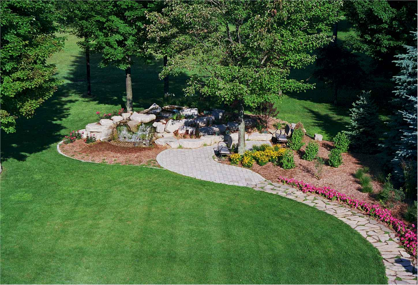 What's in a Yard: Keys to Excellent Landscaping for Plano ... on Big Backyard Landscaping Ideas id=14300