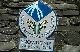 Snowdonia National Park Sign
