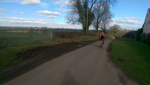 Rich Mace John Perks CC Giro Climb
