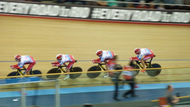 Russian Men's Team Pursuit World Track Championships 2016 London
