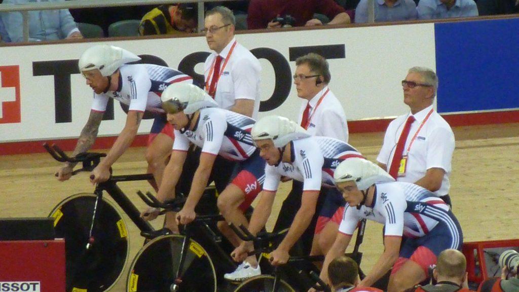 Great Britain Men's Team Pursuit World Track Championships 2016 London