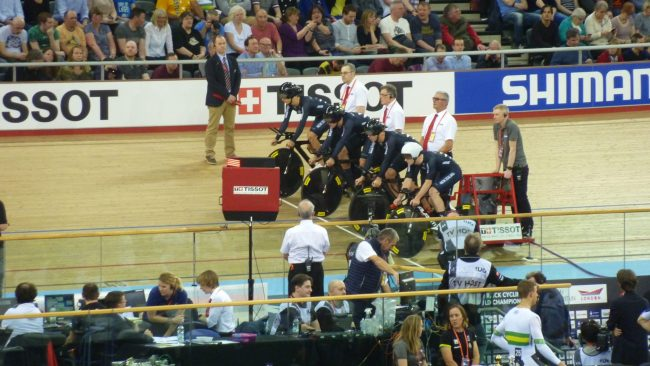 New Zealand Men's Team Pursuit World Track Championships 2016 London